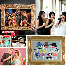 UK 24pcs Photo Props Booth Large Picture Frame Hen Do Party/Stag Night/Self Hot