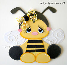 Bees Kids Die Cuts Paper Piecing Set PreMade Border Scrapbook Album danderson651