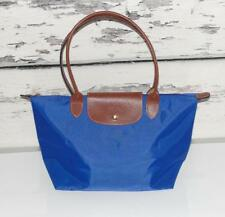 LONGCHAMP Le Pliage France Tour Eiffel Paris~COBALT BLUE~SHOPPERS TOTE BAG