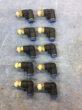 """Elbow Fitting 1/4"""" Npt Male To 3/8"""