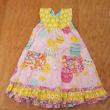 Jelly the Pug Girl's Designer Summer Dress Size 3 - 4 Years