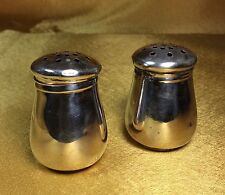 Antique JW Wolfenden Sterling Silver Mini Salt & Pepper Shakers