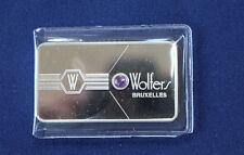 1979 Wolfers Bruxelles Fluorine Franklin Mint Silver Art Bar P0055