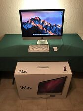 "Apple iMac 27""  3.1GHz Intel Quad Core i5 1TB SSD 1TB HDD 16GB RAM  OS X Sierra"