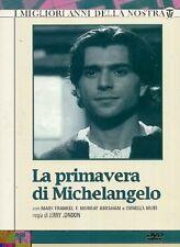 LA PRIMAVERA DI MICHELANGELO -3 DVD COFANETTO  SERIE-TV