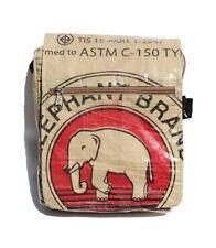 Fair Trade Elephant Brand Small Deluxe Messenger Bag handmade in Cambodia