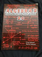 Teaching Textbooks Algebra 2 (2.0 Version) Answer Key And Test Bank