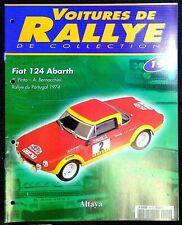 Fascicule Voitures de Rallye de collection N°19 - Fiat 124 Abarth