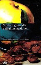 MONTANARI Storia e geografia dell'alimentazione. 2 VOL. IN CUSTODIA UTET