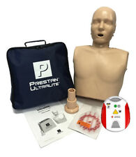 Prestan Ultralite CPR Training Manikin + Red Cross AED Trainer CPR Training Kit