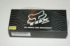 Clear Fox Racing Lexan Anti-Fog Youth Replacement Lens Motorcycle Goggle Acc