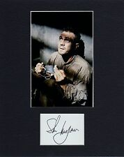 STEVE MCQUEEN  CUSTOM 8 by 10 MATTED REPRINT PHOTO & REPRINT  AUTOGRAPH