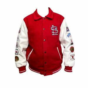 Original 1982 World Series WS 10 X Championship St. Louis Cardinals Jacket