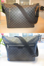 Original louis vuitton Mick gm damier Graphite canvas (tamaño como keepall 45)