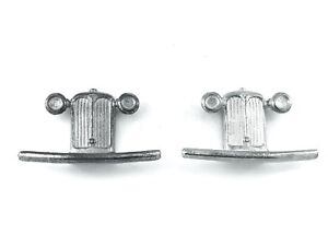 Dinky 36d Rover   Grille   Repro White Metal or Pewter