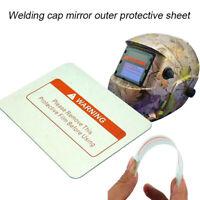 10Pcs Welding Helmet PC Clear Lens Cover Replacement Protective Plates 3 Size r