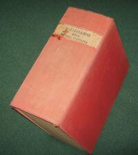 """Libri/Giornali""""VOCABOLARIO DELLA LINGUA ITALIANA""""Zingarelli/Zanichelli/1951"""