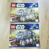 LEGO - INSTRUCTIONS BOOKLET ONLY - Star Wars Clone Turbo Tank - 8098