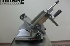 "Hobart 2812 12"" Manual Meat Cheese Deli Slicer Butcher Turkey With Sharpener NSF"