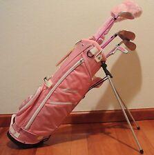 Ciscobay Pink Girls Kids Golf Clubs Junior Set 5-8 RH