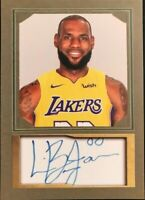 Lebron James**🔥🔥🔥  Aceo Facsimile Autograph Custom * Lakers = SALE