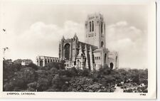 Liverpool; Anglican Cathedral RP PPC By Photochrom, Unposted, c 1950's