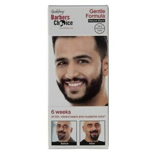 Godefroy Beard And Moustache Colour - Natural Black