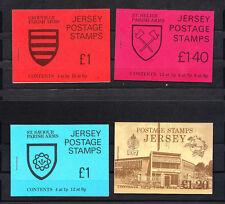 JERSEY  lot de 4 carnets de   timbres  neufs  **  de 1976  , num: 128/131