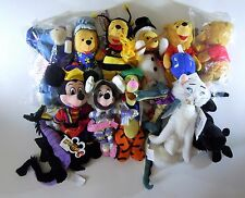 Disney Bean Bag Plush Lot of 13 Mickey Minnie Pooh Eeyore Tigger Fantasia NEW