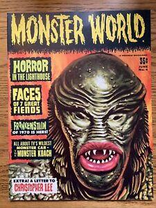 MONSTER WORLD # 4  JUN. 1965  WARREN Publishing VF