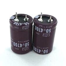 4700uF 50V (2x) Electrolytic Capacitors 50V 4700uF Volume 22x35 mm