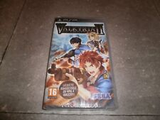 Game Psp Version French: Valkyria Chronicles II - New Blister
