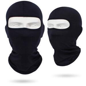 Balaclava Motorcycle Motorbike Ski Bike Head Neck Warmer Face Mask Black Bally