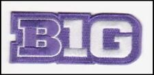 CHICAGO NORTHWESTERN PURPLE JERSEY BIG TEN PATCH NCAA COLLEGE FOOTBALL W