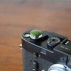 Olive Safari Standard Large Soft Release Button f/ Leica M3 MP M8 M9 Nikon Canon