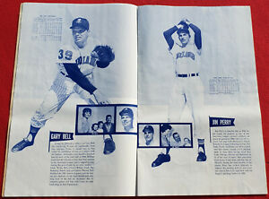 "1962 Cleveland Indians Massive 14"" x 22"" Sketchbook - Mudcat Grant, Jim Perry"