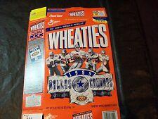 1995 Super Bowl Champions Dallas Cowboy wheaties box