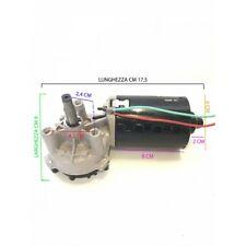 MOTORIDUTTORE REVERSIBILE 12-24 V 25/50W MAX NM 150 15-70 RPM