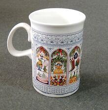 Dunoon Scotland Sue Scullard Christmas Holiday Santa Claus Coffee Tea Cup Mug