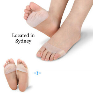 1 Pair Silicone Gel Toe Separator Straightener Crooked Hammer Toes Bunion