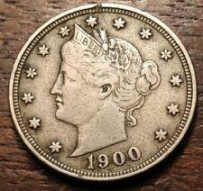 1900 Liberty Nickel 3390