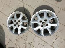"2 cerchi in lega 14""/2 alloy wheels 14"" from a Fiat Abarth 1999 or 2000"