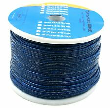 DNF 16 Gauge Blue Speaker Wire 250 Feet - FREE SAME DAY PRIORITY SHIPPING!