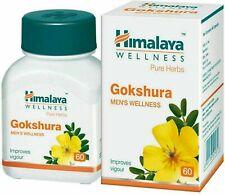 Himalaya Gokshura Pure Herbal Enhances and Improves Vitality ` 60 Tablets`