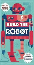 NEW Build the Robot by Steve Parker HC Book And Box Parts NIB Free Shipping