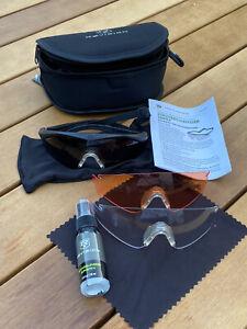 Revision Sawfly Schießbrille Schutzbrille neu / OVP Bund Bundeswehr Größe M