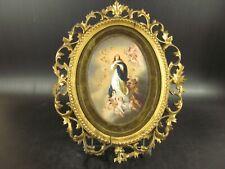 Porcelaine KPM Berlin? L'Immaculée Conception par Murillo Cadre Rococo, XIXème