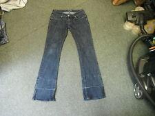 "Miss Rosina jean bootcut taille 30"" jambe 33"" délavé bleu foncé femme jeans"