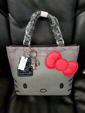 Loungefly Hello Kitty Plaid Crossbody Bag