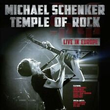 Michael Schenker Temple Of Rock- Live In Europe LP NIGHT OF VINYL DEAD NEU NEW